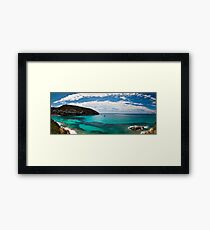 Pano from ELP PORTET Framed Print