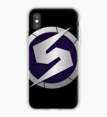 Purple Metroid Logo (Gravity Suit) iPhone Case