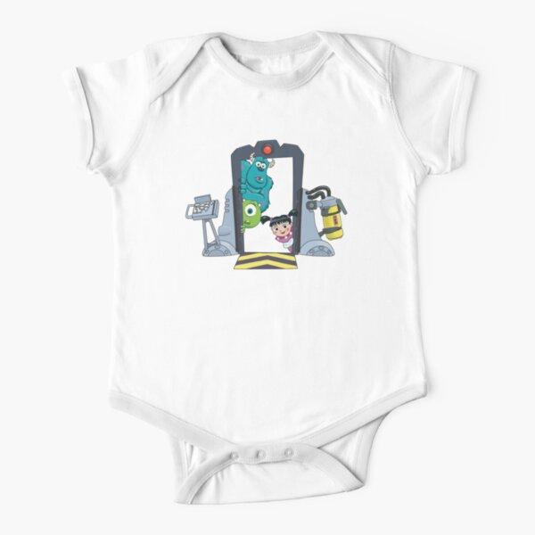 Boo Door Short Sleeve Baby One-Piece