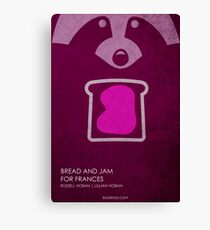 Bread and Jam for Frances w/o Title Canvas Print
