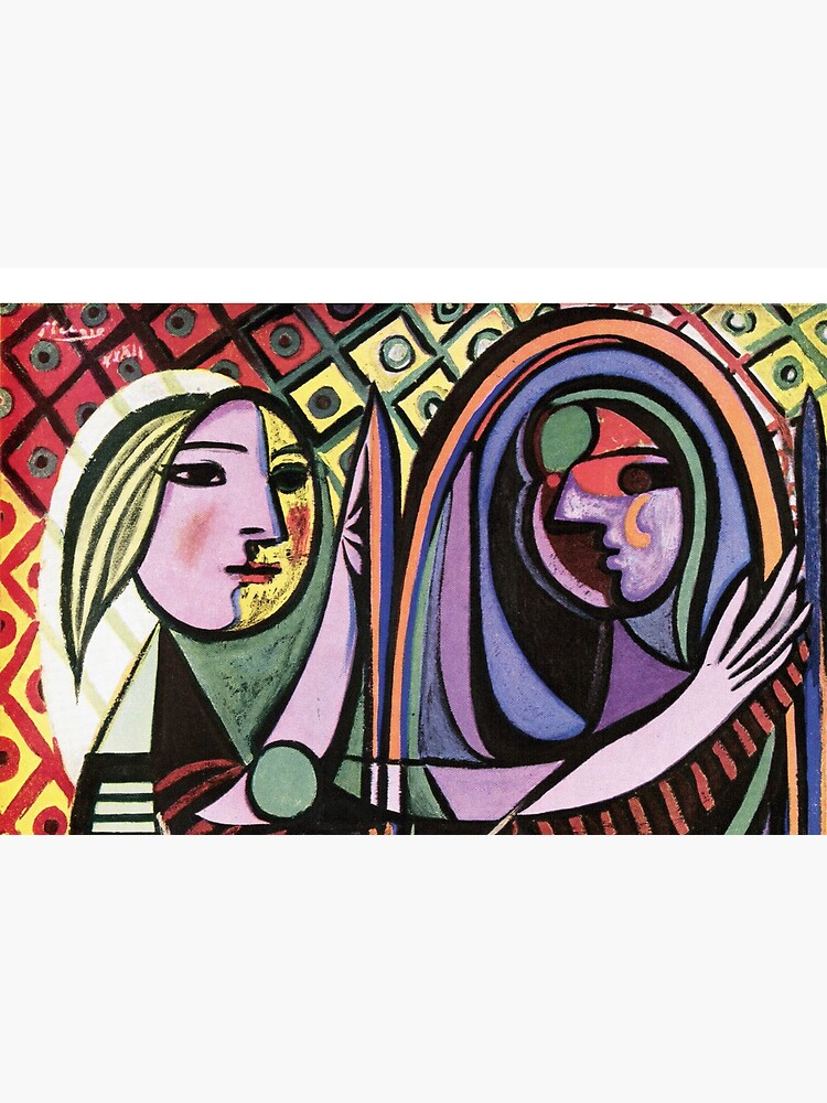 Pablo Picasso Girl before a Mirror 1932 Artwork Reproduction, Tshirts, Prints, Poster, Bags, Men, Women, Kids by clothorama