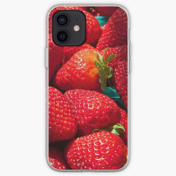 Strawberries iphone forever... iPhone Soft Case