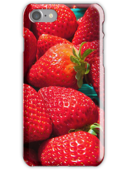 Strawberries iphone forever... by Eyal Nahmias