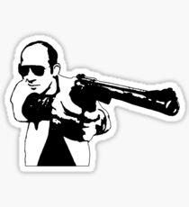 Hunter S Thompson - Gun Sticker
