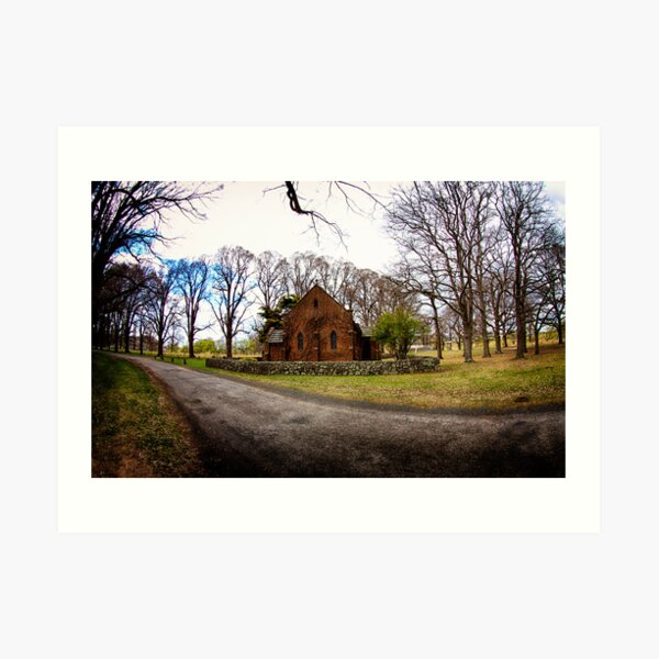 Chapel in the Country Art Print