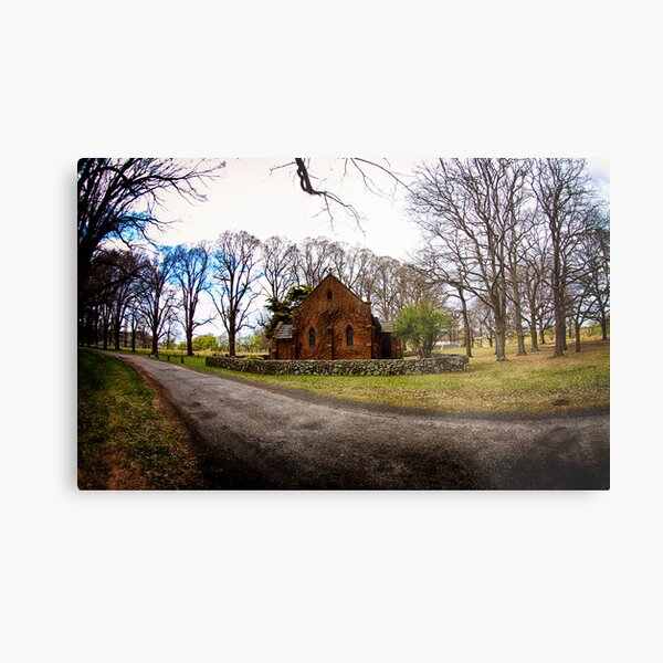 Chapel in the Country Metal Print