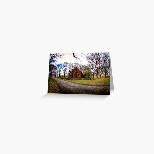Chapel in the Country Greeting Card