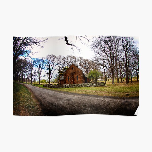 Chapel in the Country Poster