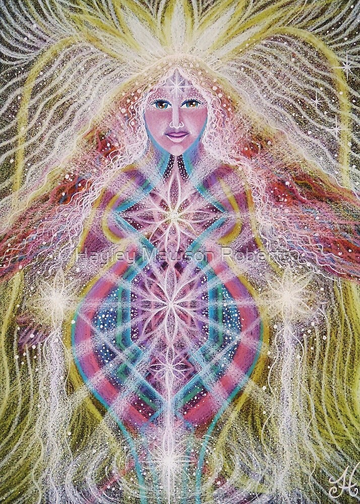 RADIANCE- Angel of the Inner Light by Hayley Mawson Roberts