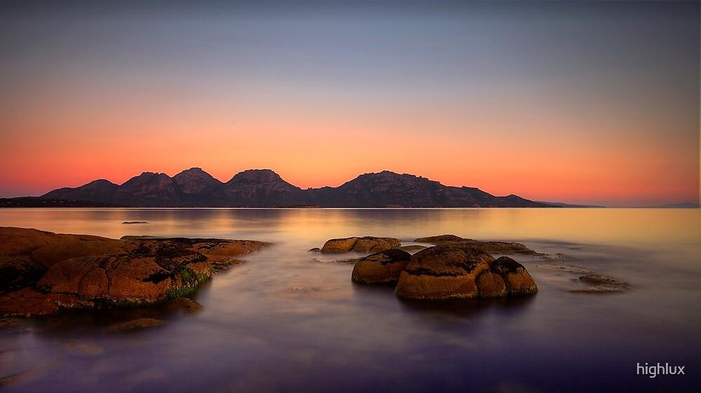 A View Towards The Hazards - Freycinet Peninsula - Tasmania by highlux
