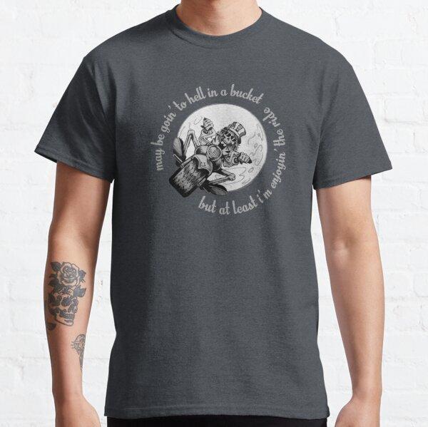 Grateful Dead Inspired Enjoying the Ride  Classic T-Shirt