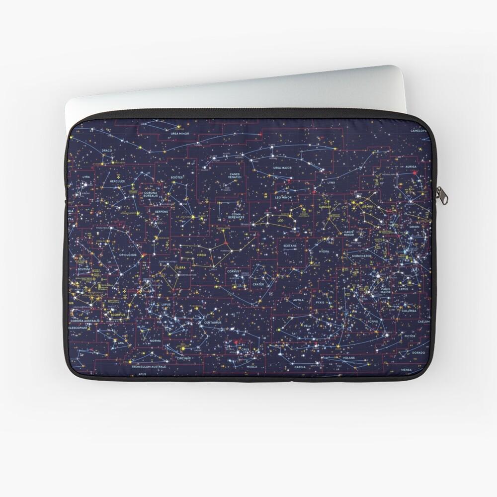 Night Constellations Laptop Sleeve