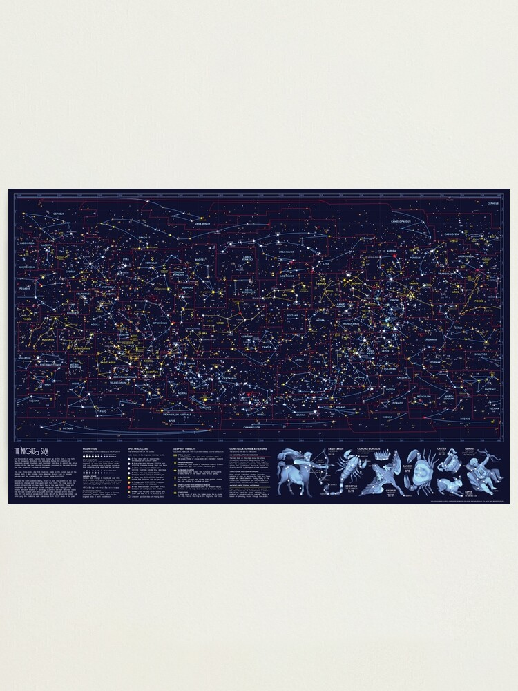 Alternate view of Night Constellations Photographic Print