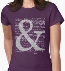 Ampersand | Amanda Palmer Women's Fitted T-Shirt