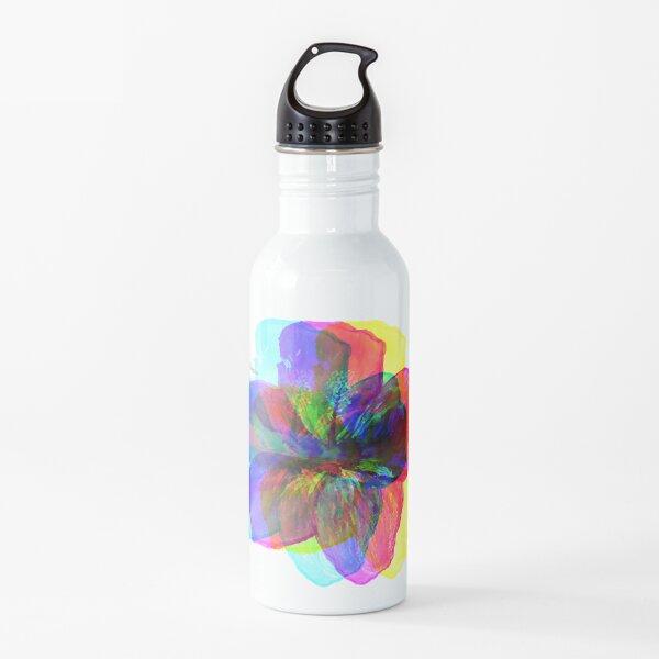 Rainbow Flower  Water Bottle