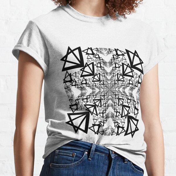 Illustration, Triangle, 2D shape Classic T-Shirt