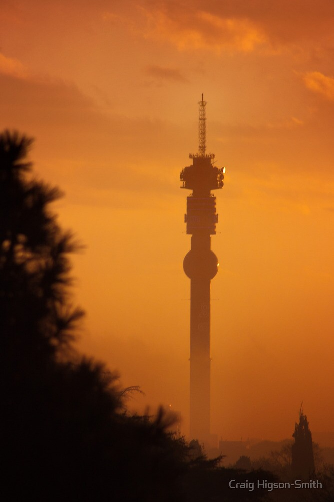 Hillbrow Tower, Johannesburg, South Africa by Craig Higson-Smith