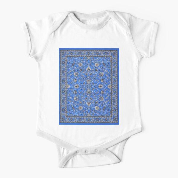 Kashan Design Rug Short Sleeve Baby One-Piece
