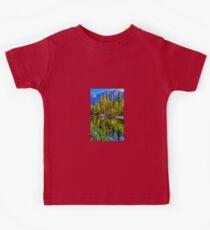 Reflections on the Merced river, Yosemite National Park Kids Clothes