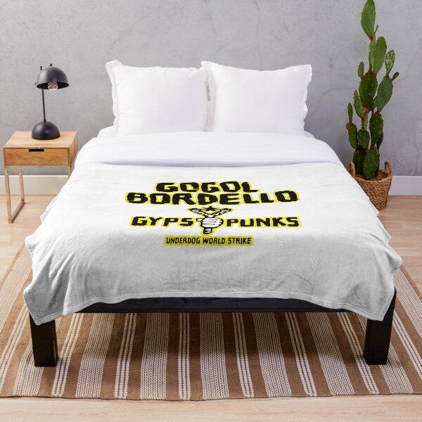 gogol bordello Throw Blanket