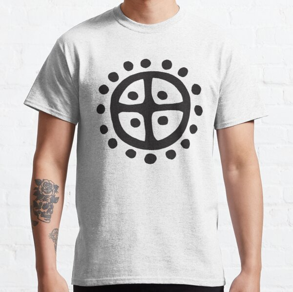 Sun Wheel   Prehistoric Norse symbols Classic T-Shirt