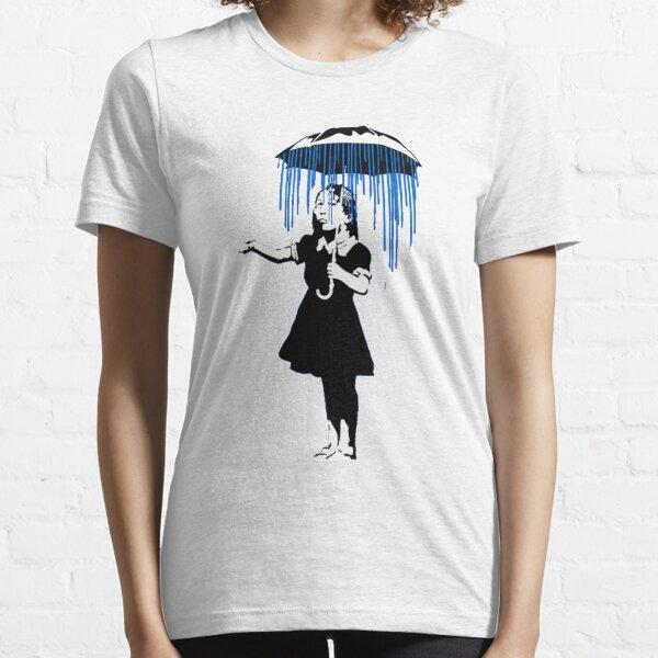 Banksy Raining on the Inside! Essential T-Shirt