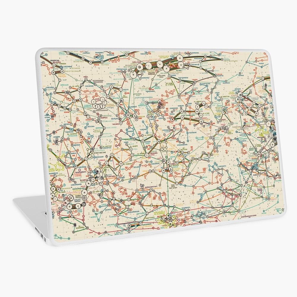 World Constellations Laptop Skin