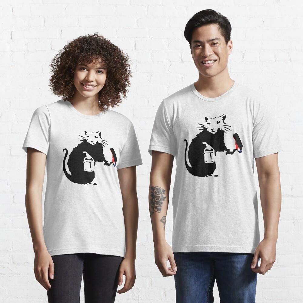 Banksy Graffiti Rat Artist Essential T-Shirt