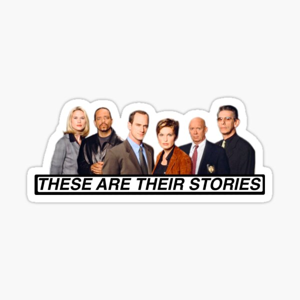 Law and Order SVU Sticker