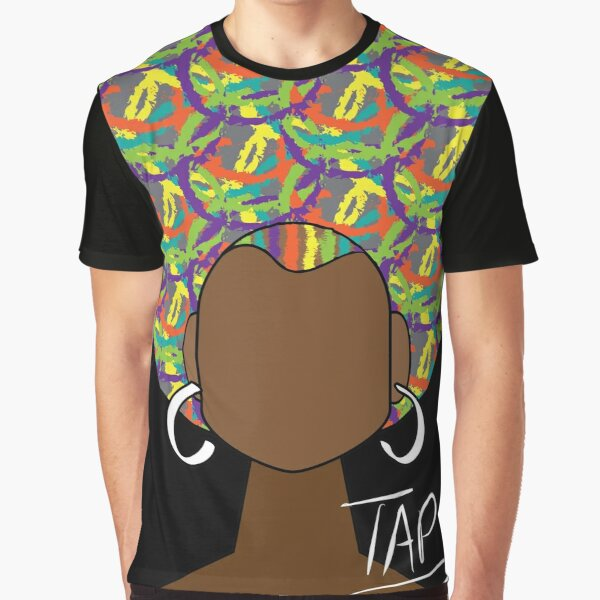 Colorfro Girl Graphic T-Shirt