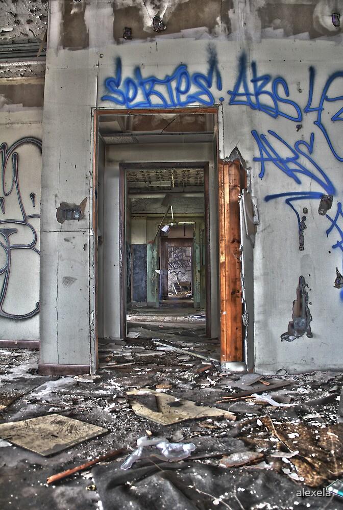 Detroit Doorway by alexela