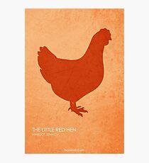 Lámina fotográfica La pequeña gallina roja