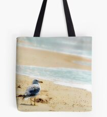 Lonely sea gull Tote Bag