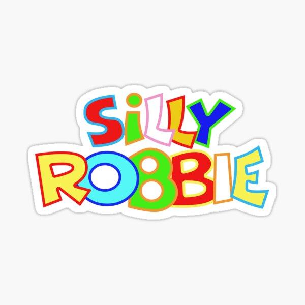 Silly Robbie Classic Logo Sticker  Sticker