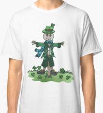 St Patrick's Shamrock Scarecrow Classic T-Shirt