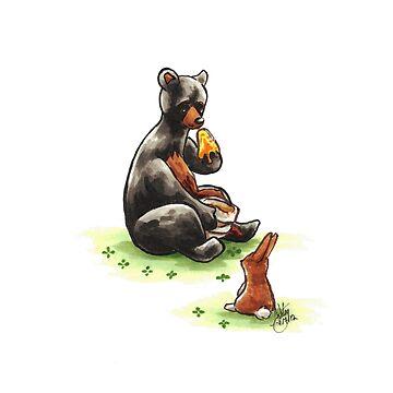 Do Bunnies Like Honey? by WeileAsh