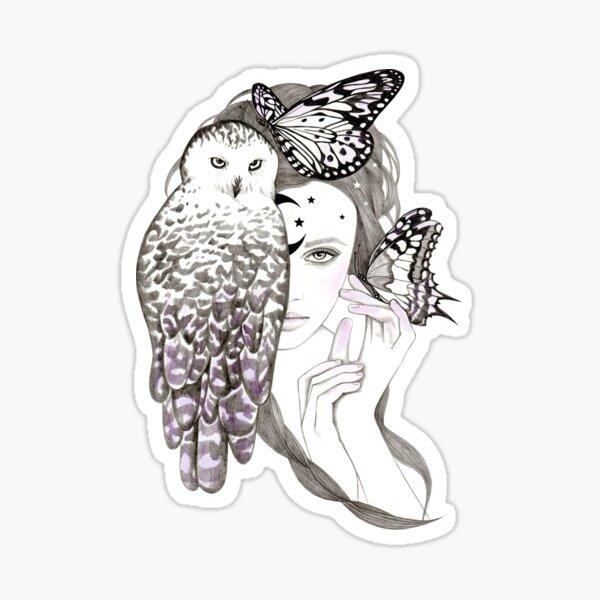 Owl Spirit Sticker