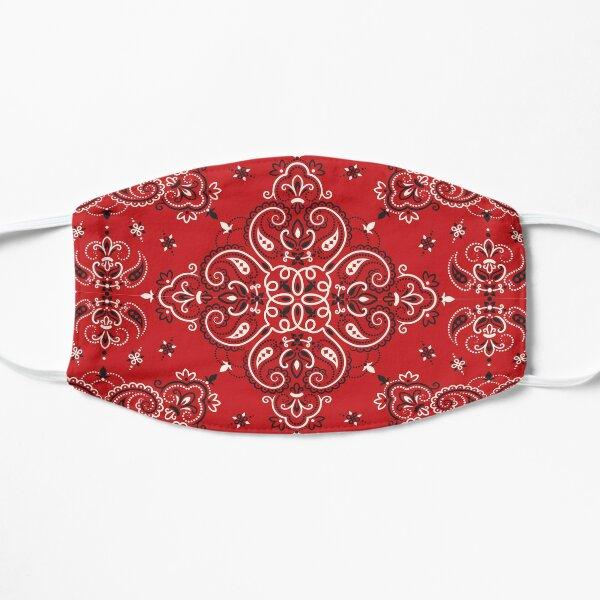 Red Bandana Flat Mask