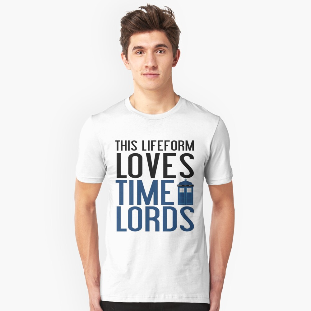 LOVES TIME LORDS Unisex T-Shirt Front