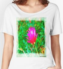Color flower Women's Relaxed Fit T-Shirt