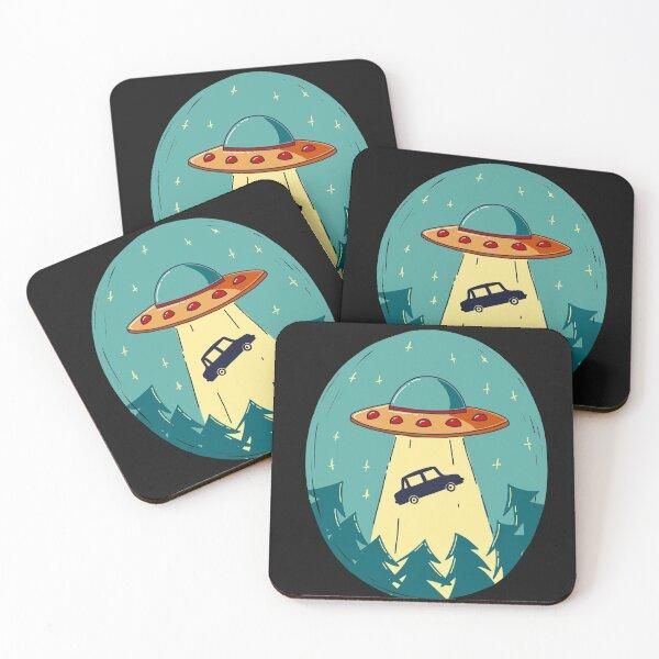 UFO Coasters (Set of 4)