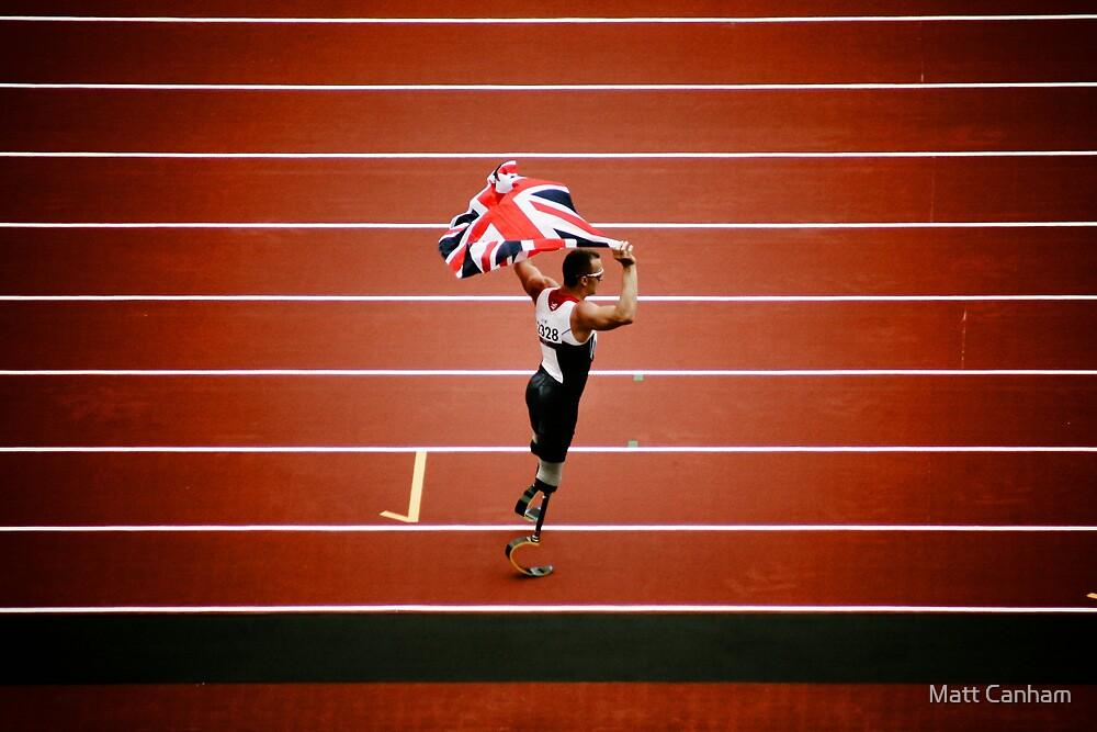 London 2012 Paralympics Richard Whitehead by Matt Canham