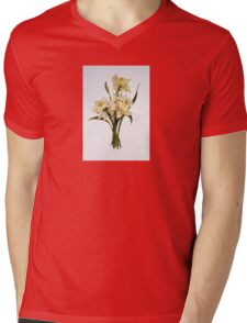 Double Narcissi In A Bouquet Mens V-Neck T-Shirt