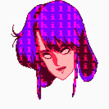 KILLGIRL.EXE (Purple) by vgjunk