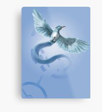 Hunger Games Articuno Metal Print