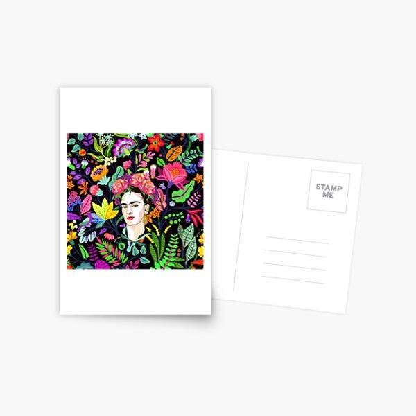 Frida in Bloom Postcard