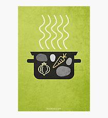 Stone Soup w/o Title Photographic Print