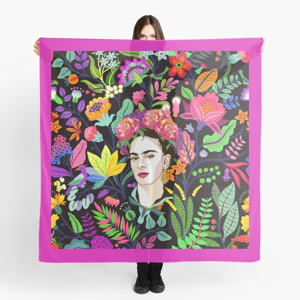 Frida in Bloom Scarf
