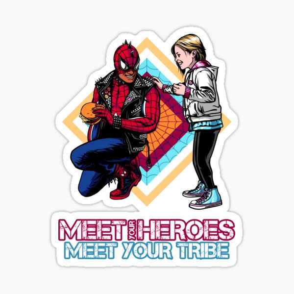 Meet your Heroes/Tribe Sticker