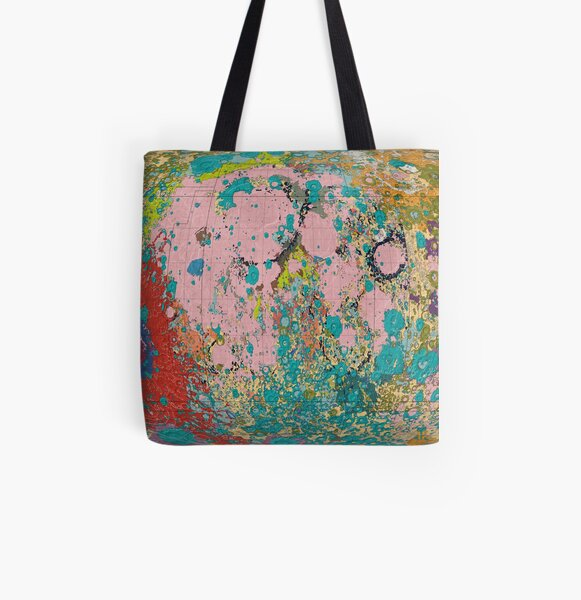 Geology of the Moon All Over Print Tote Bag
